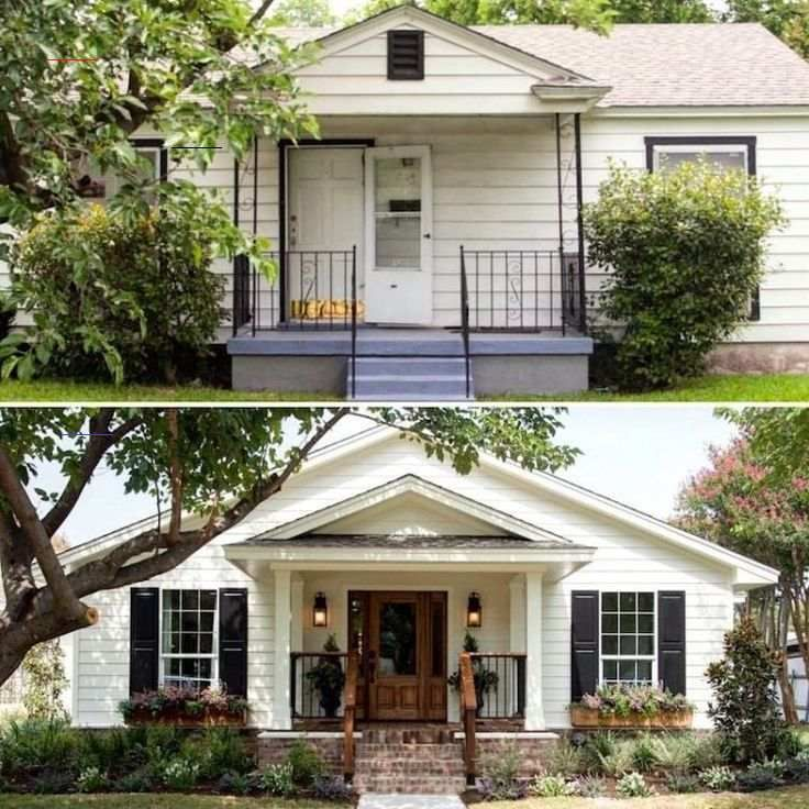 12 Amazingly Wonderful Exterior Home Makeovers - #fixerupper - Hi Everyone,It's funny, but the second spring hits, the first thing on my mind is the outside. And what I mean by that is a home's exterior.And true to form, last year mid-April, I did a post about some of the best paint colors for exteriors.But what if a home's exterior is…...