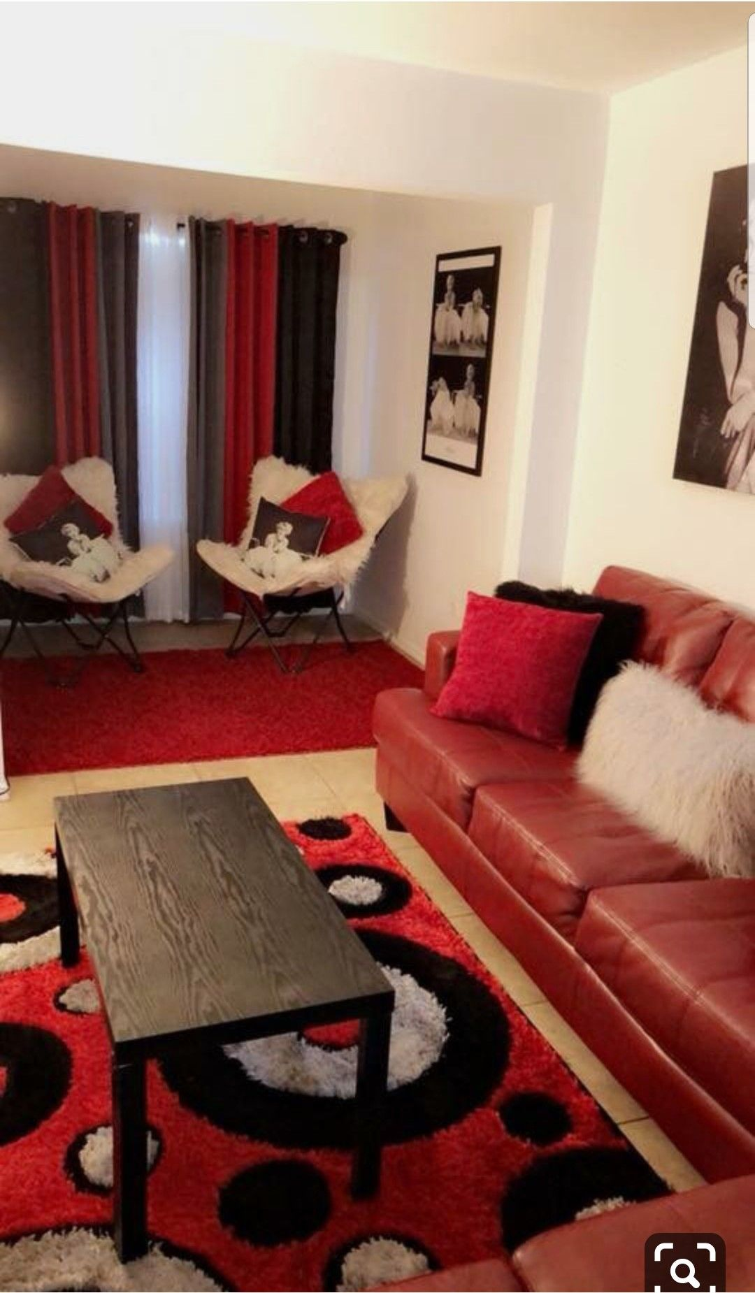Red Black White Living Room Red Couch Living Room Living Room Red Red Living Room Decor
