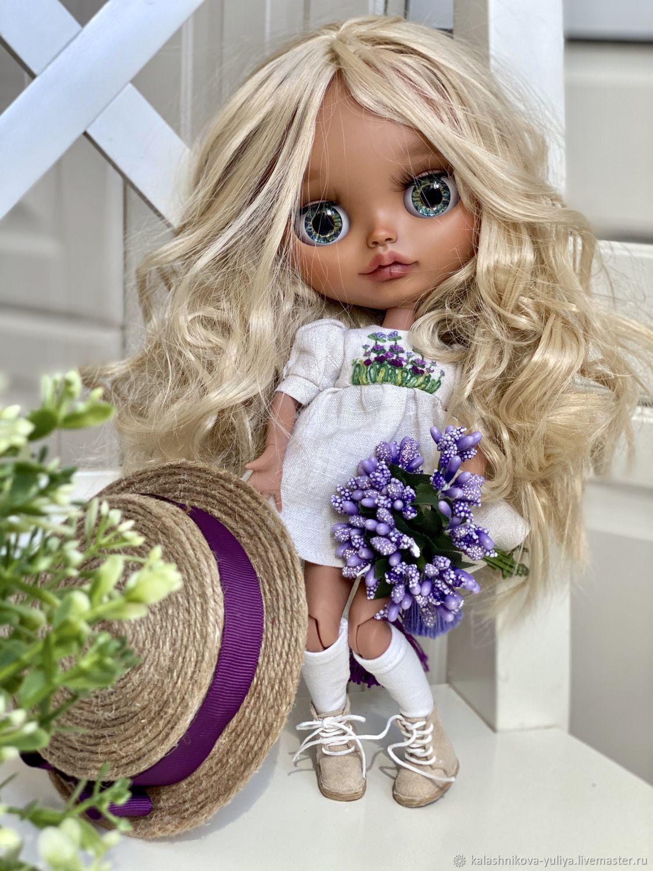 Лавандовая блондинка Блайз (тбл) на шарнирном теле ...