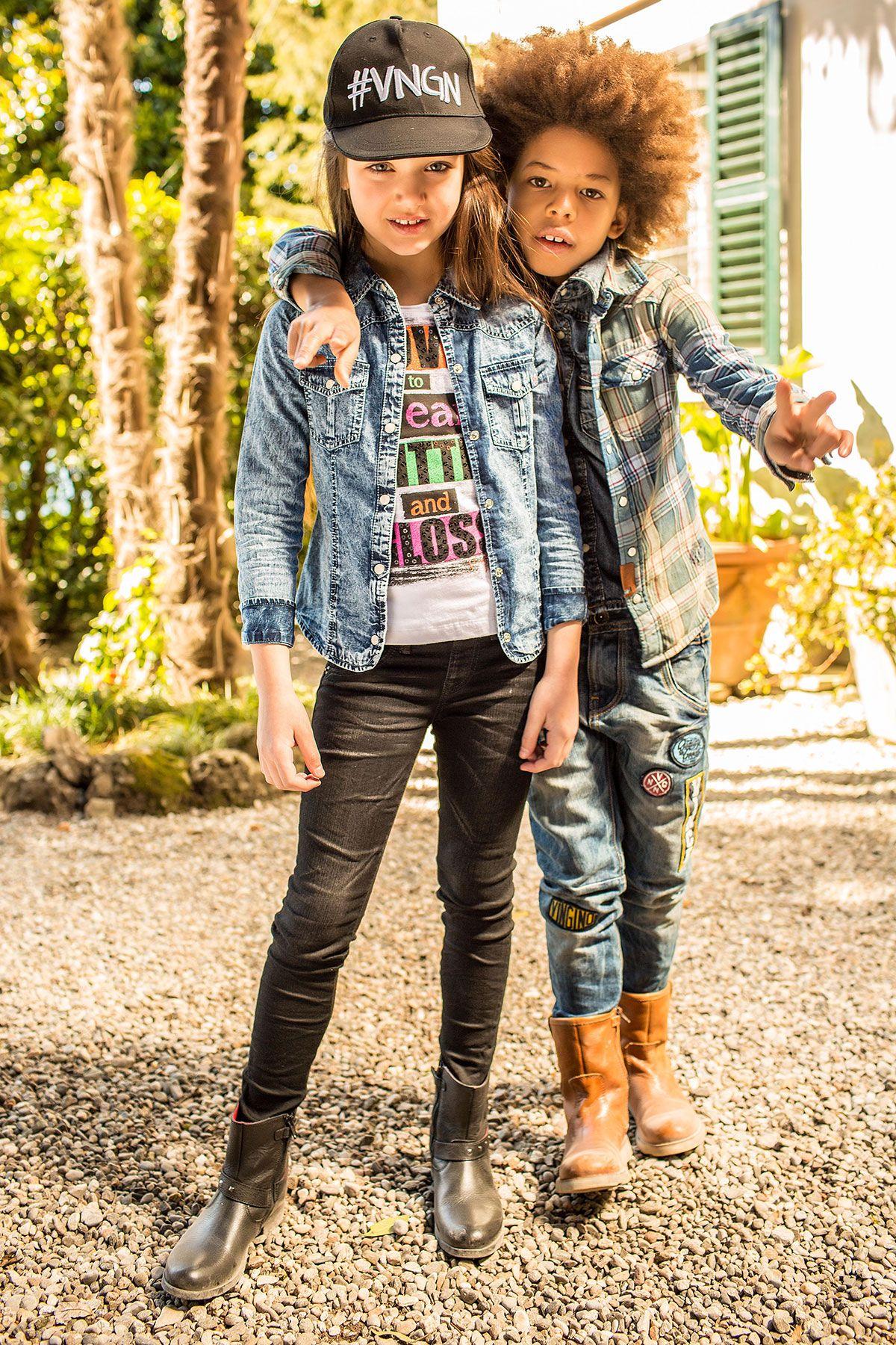 Kinderkleding Stoer.Vingino Kinderkleding Stoer Comfortabel Meisjes Denim Overhemd