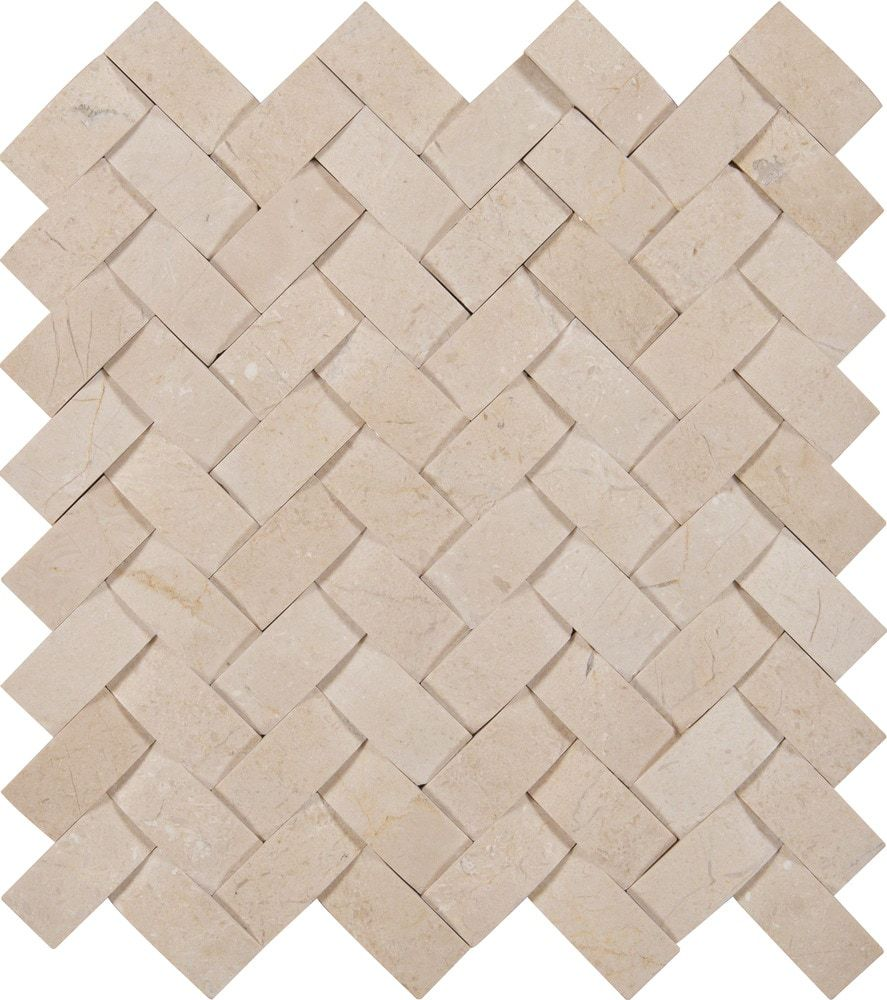 Ms International Cappuccino 12 In X 12 In Polished: Mosaic Wall Tiles, Ceramic Mosaic