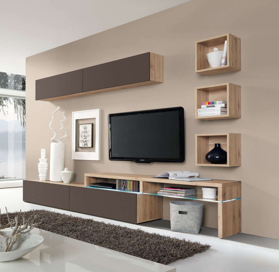 Modern Home Theatre Ideas: Amsterdam Wall Unit Combination-15974 By Creative