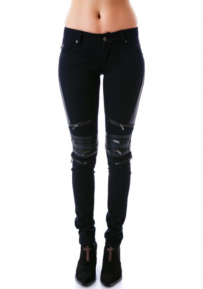 Tripp NYC Zip Protector Jeans