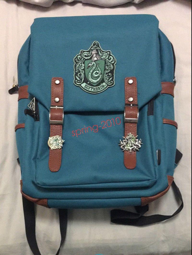 846cf3e9f86c Harry Potter Gryffindor Hogwarts Slytherin Backpack Shoulder bag School Bag