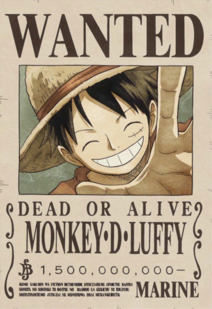 Luffy S Bounty Monkey D Luffy Luffy Luffy Bounty