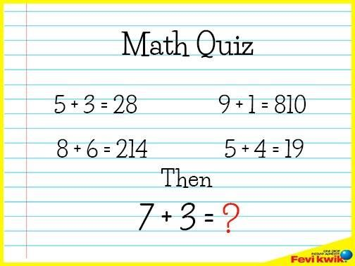 answer is 410 | Maths puzzles | Brain teasers, Maths puzzles, Riddles
