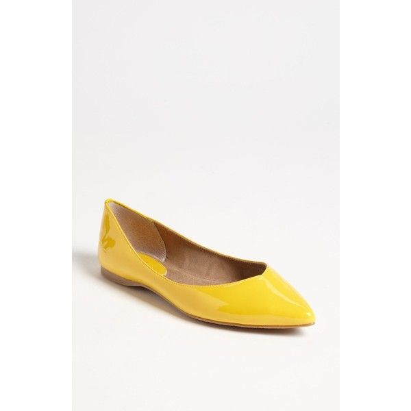 BP. 'Moveover' Pointed Toe Flat ($50) found on Polyvore
