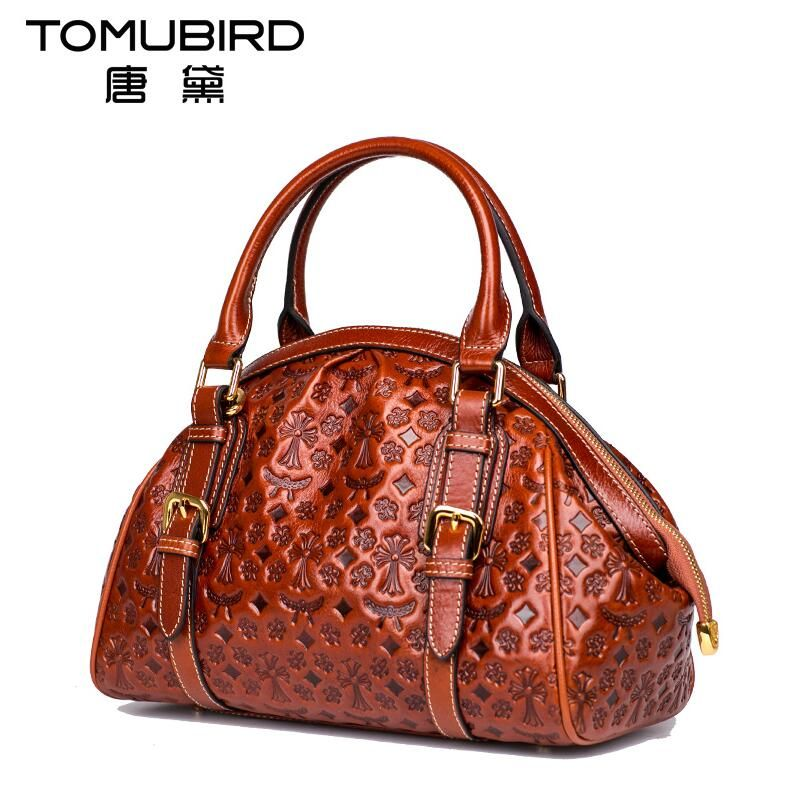 Tomubird 2017 New Luxury Handbags Women Bags Designer Bag Genuine Leather Brands Cowhide Embossing Fashion