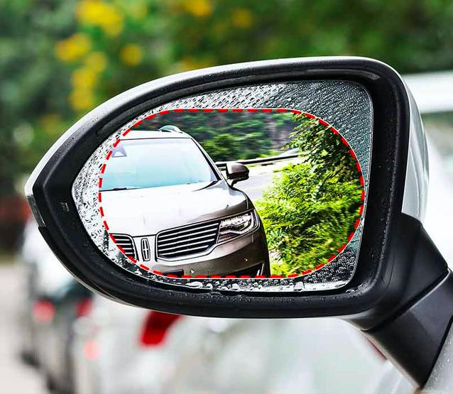 Waterproof Rearview Mirror Protector 2 Pieces Car Rear View Mirror Rear View Mirror Rear View