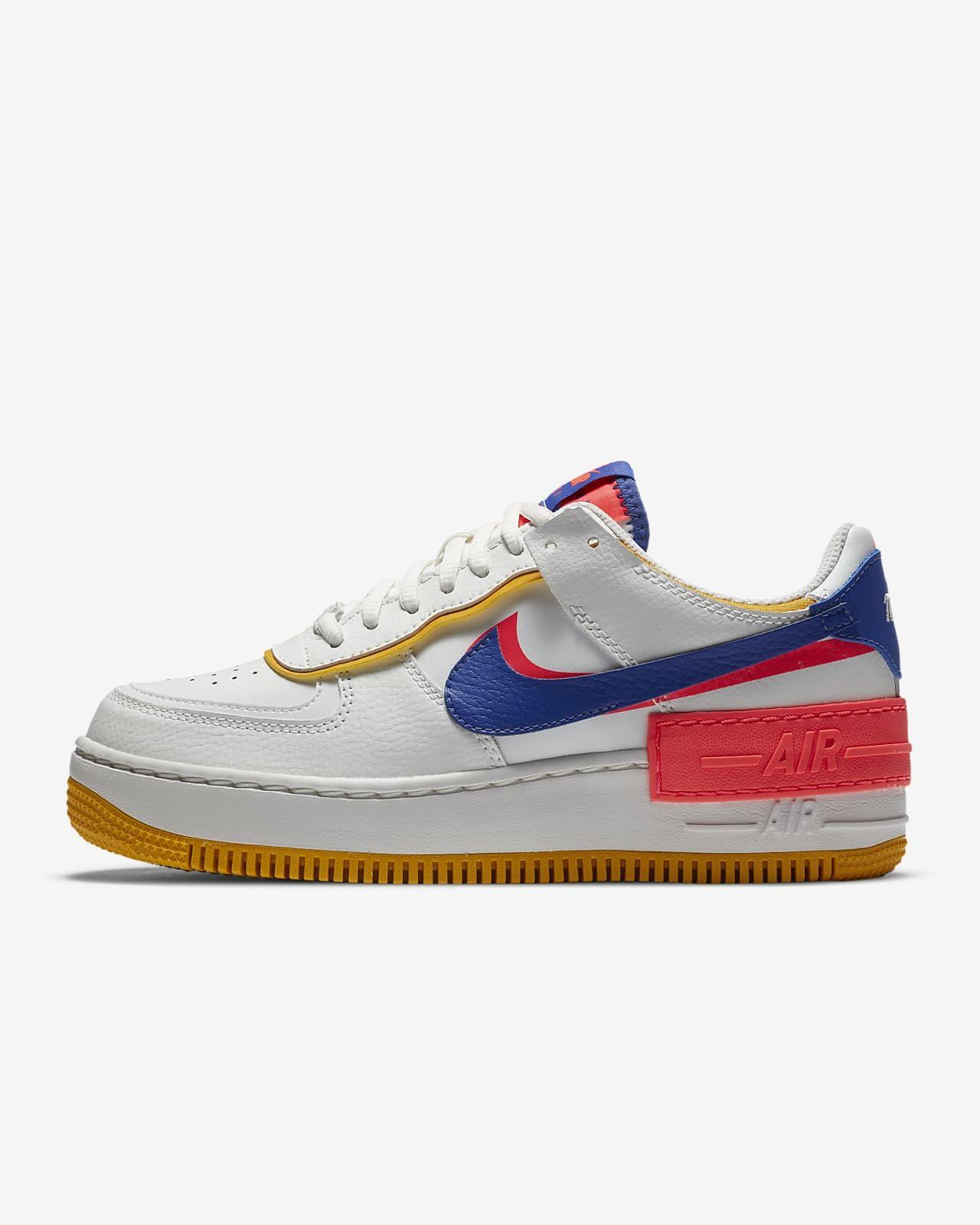 Nike Air Force 1 Shadow Women's Shoe. Nike.com in 2020 | Nike air ...