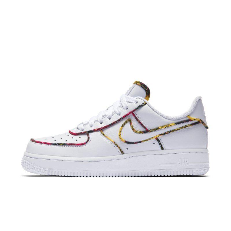 designer fashion 4eb7e 542a9 Nike Air Force 1 Low Tartan Women s Shoe - White
