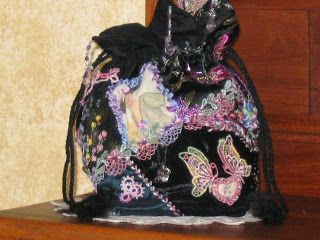 free drawstring purse sewing pattern | Is On FREE Crazy Quilting, Embellishing, Applique & Quilting Patterns ...