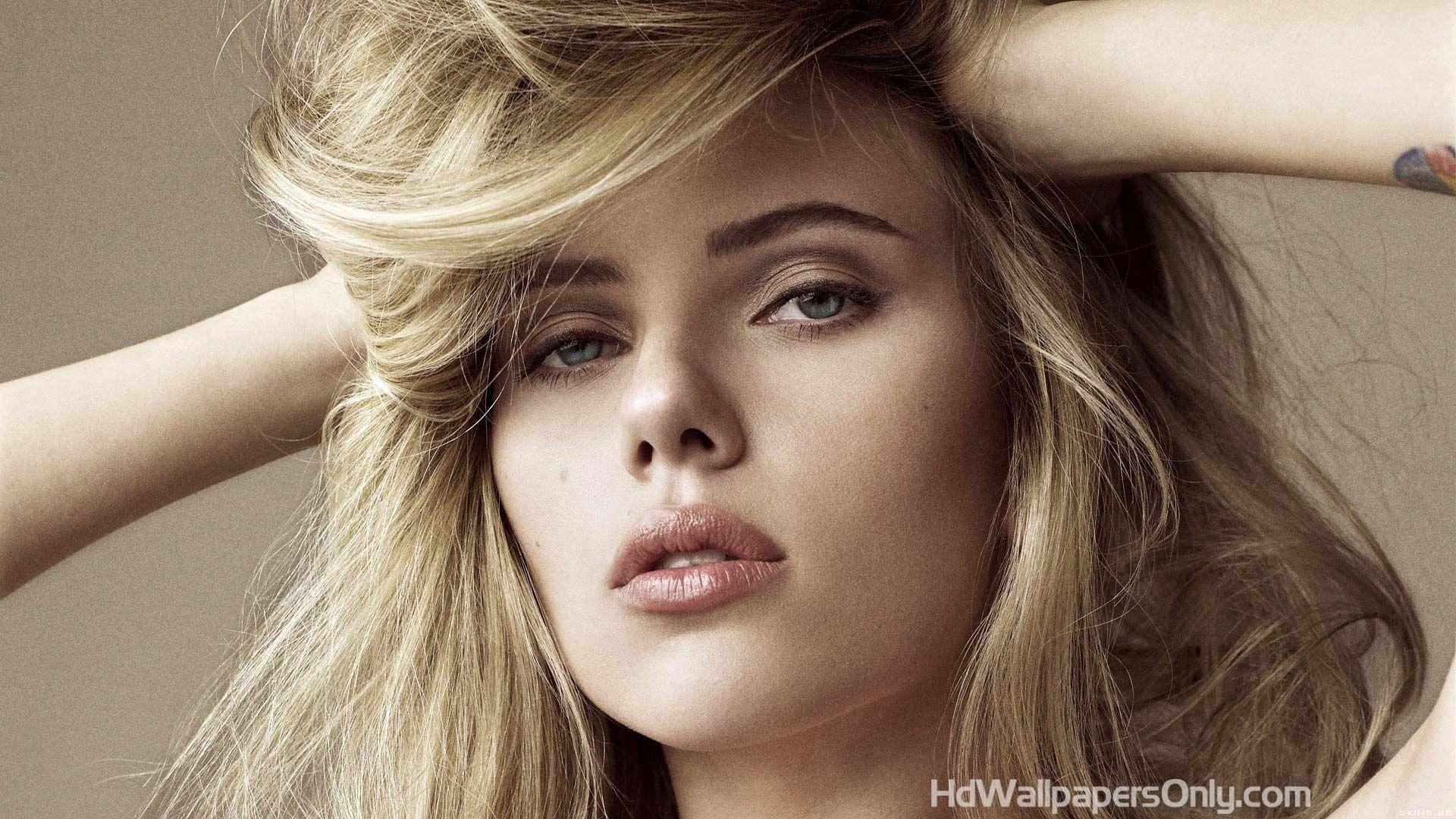 Scarlett Johansson In Hot White Dress 4K Ultra HD Mobile