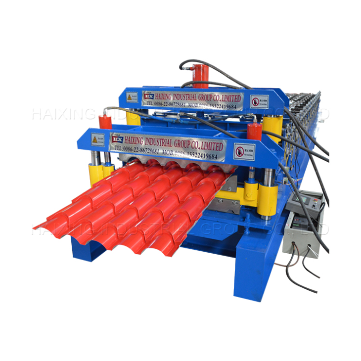 China Colored Steel Roofing Sheet Arched Roll Forming Machine Manufacturers Suppliers Price Haixing Roof Panels Steel Roofing Sheets Roll Forming