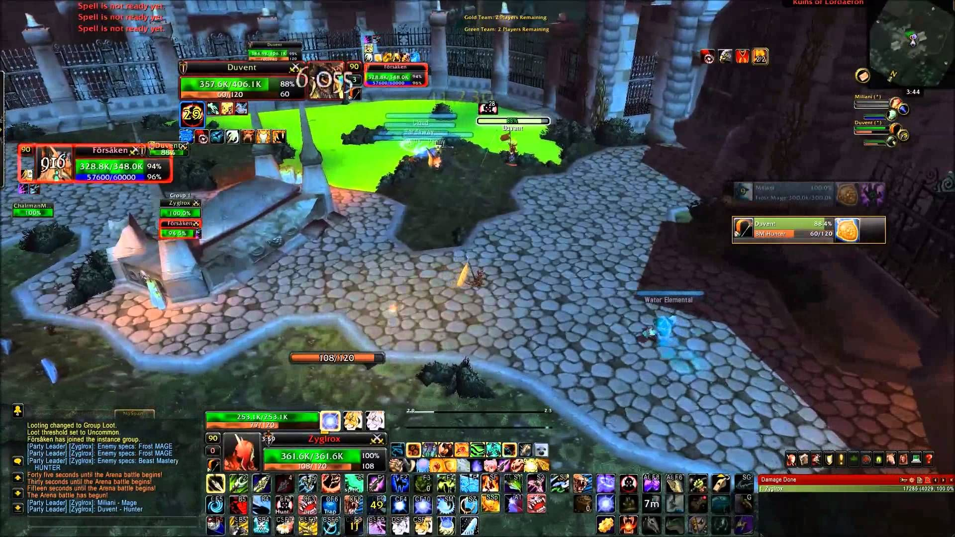 Wow Bm Hunter Gameplay 7 2v2 S Hunter Ret Half Leveling Gear Wow Leveling Guide For All Wow Players Warcraft World Of Warcraft Gameplay