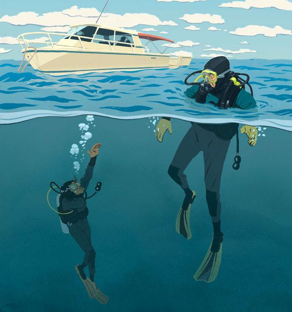 Being overweighted in unfamiliar gear leads to a fatal descent. Sadly, this tragedy spells out how important knowing your dive gear is and how it can mean the difference between life and death. Another installment in our dive-training series, Lessons For Life.