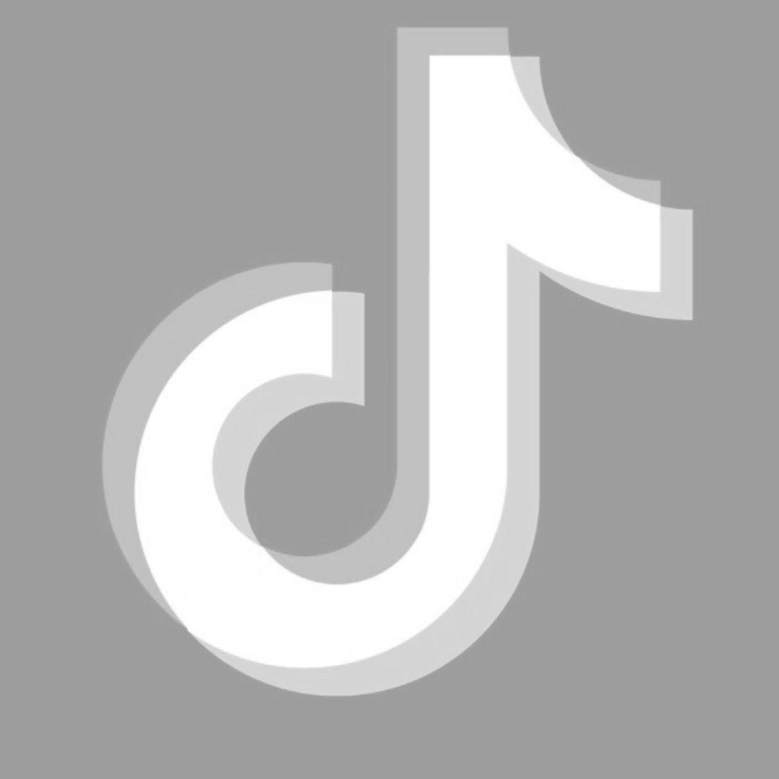 Tiktok White App Logo Aesthetic App Logo Iphone Photo App Ios App Iphone