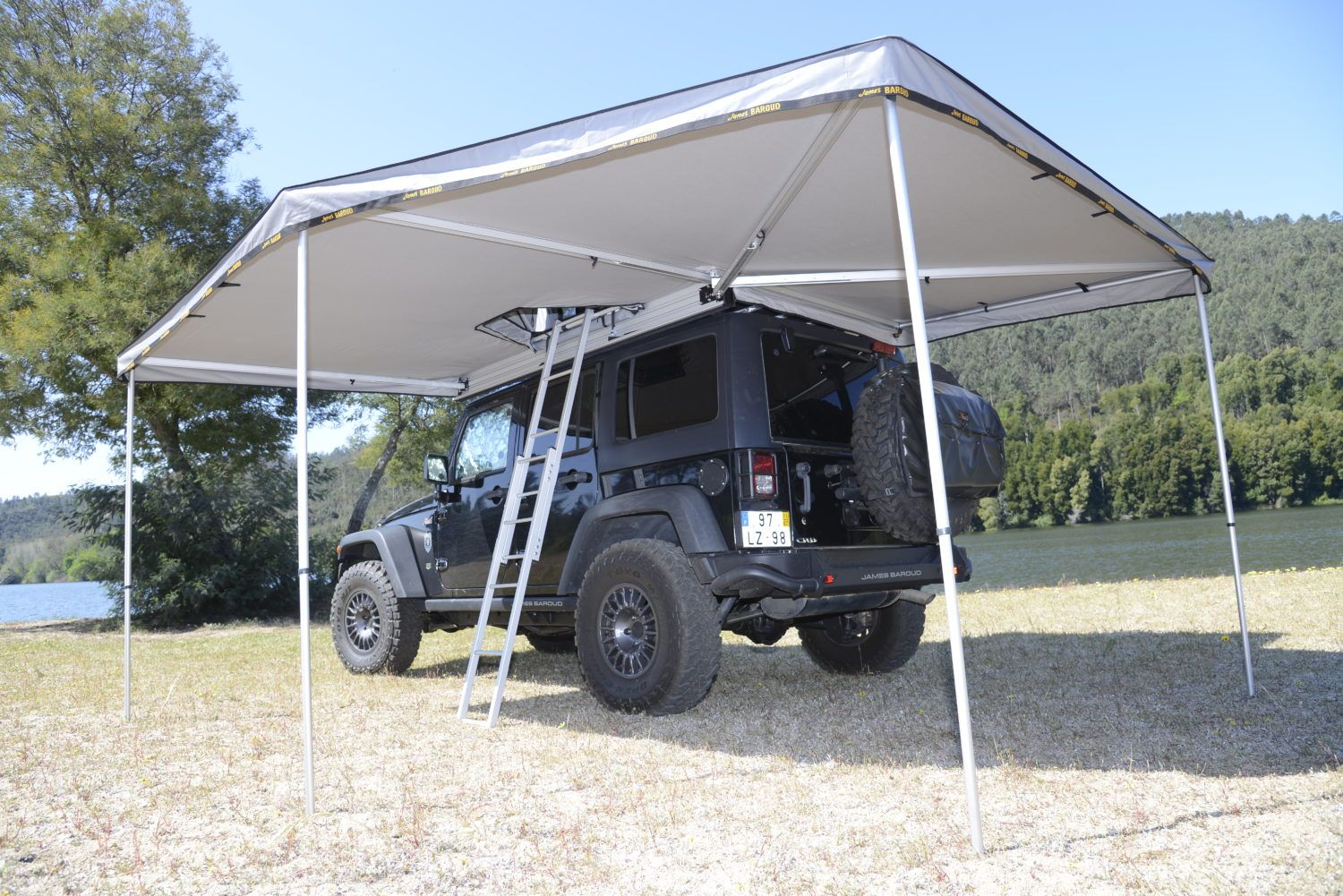 James Baroud Falcon 270 Awning Adventure Ready Awning Roof Tent Tent