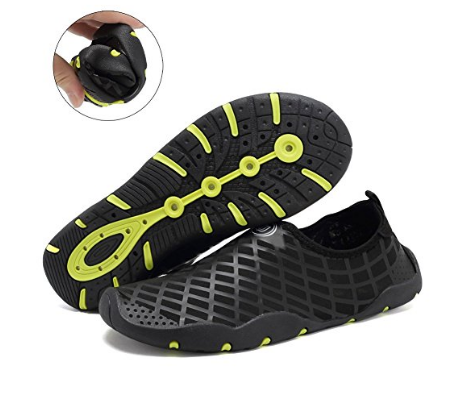 e7fef15c09ff CIOR Men and Women s Quick-Dry Water Sports Aqua Shoes with 14 Drainage  Holes for Swim