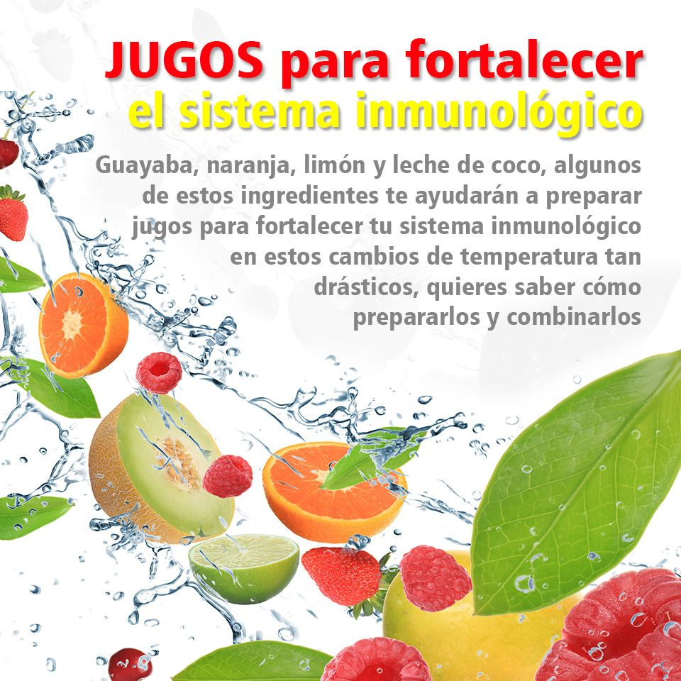 frutas para fortalecer sistema inmunologico