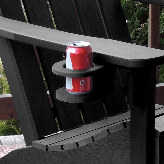 Prevent spills and keep your drink accessible with this easy-add cup holder