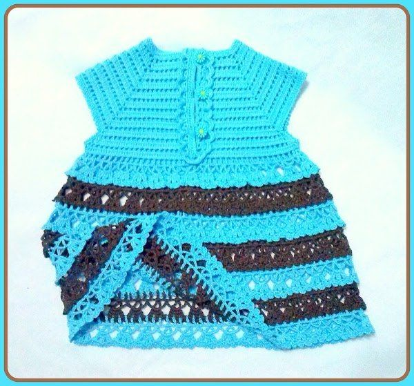 Delicadezas en crochet Gabriela: Vestidos para niñas | vesti ...