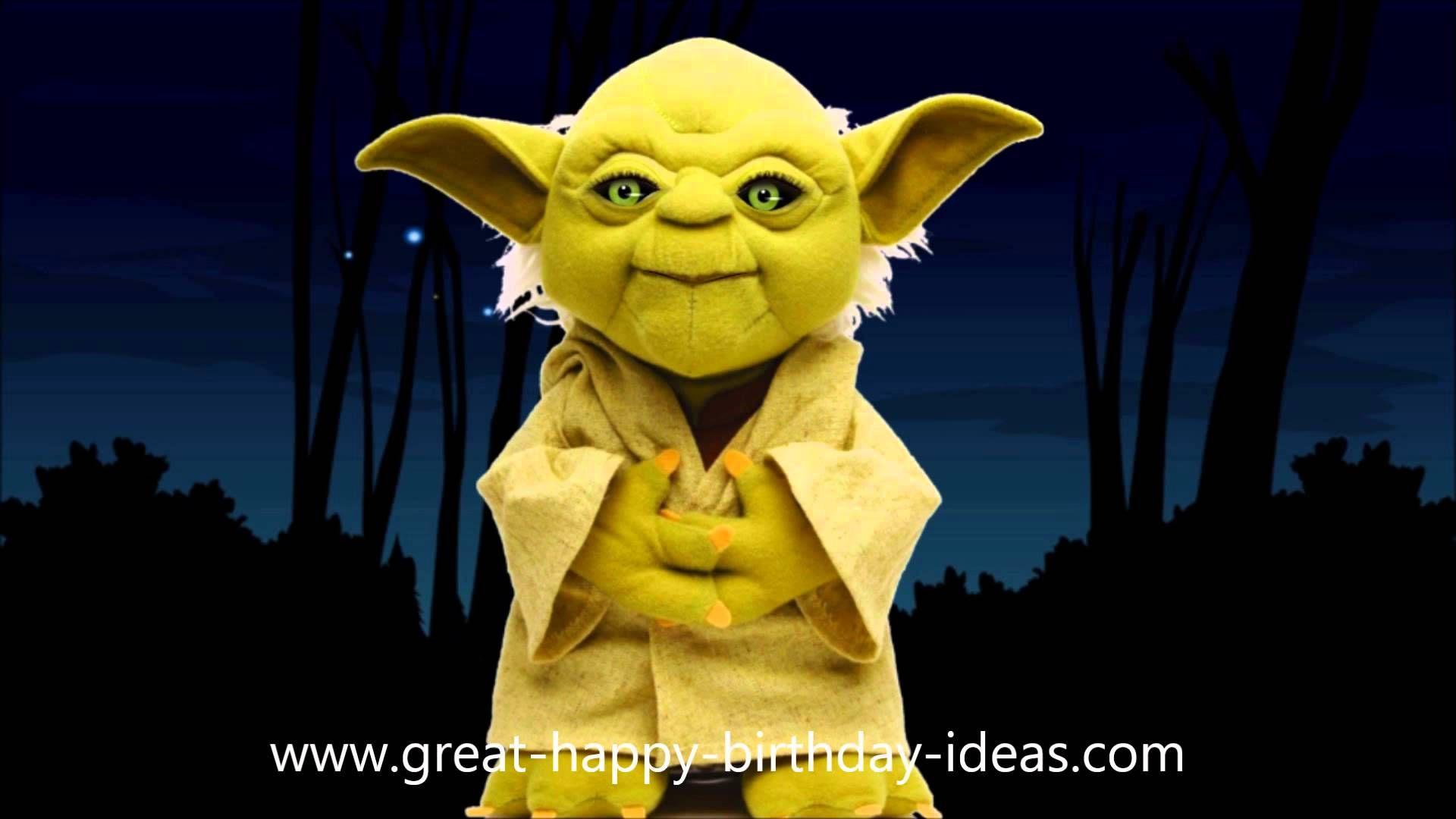 Yoda Sings Happy Birthday To You It S Funny Funny Happy Birthday Song Funny Happy Birthday Images Birthday Songs