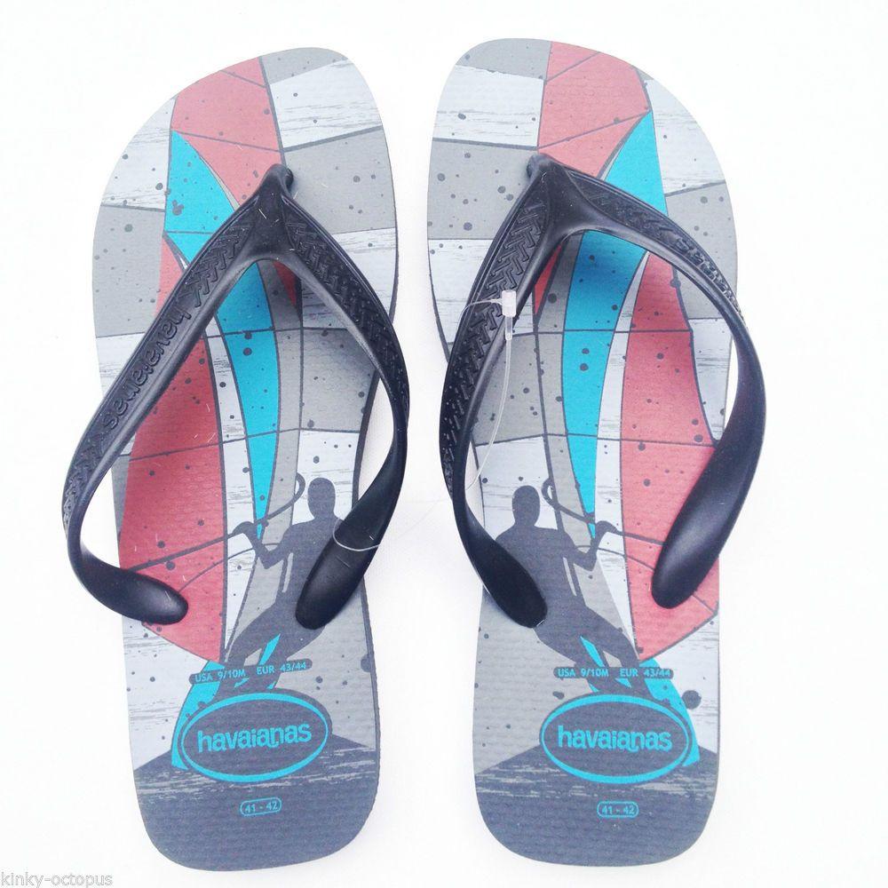 Rubber Slip On Beach Flip Flops Shoes for Men | eBay