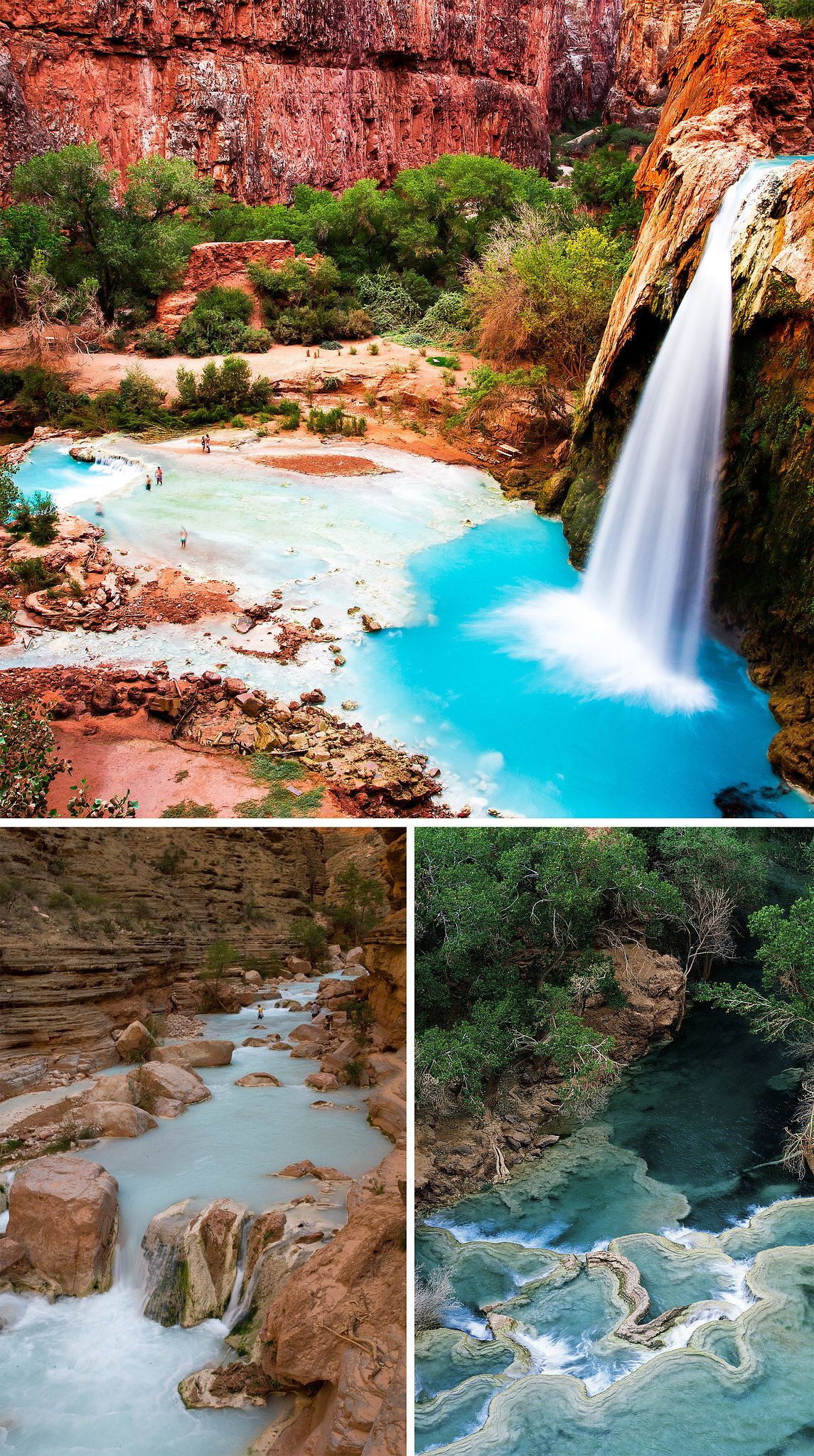 Grand Canyon, Rock And Water