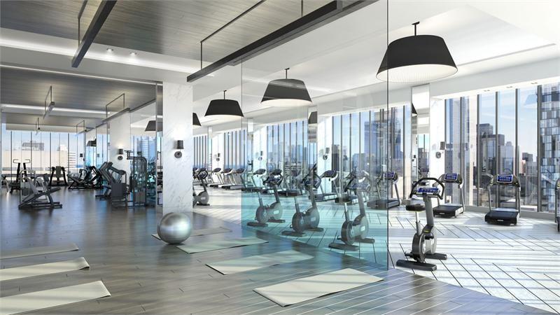 Photo Of The Residences Of 488 University Avenue Residential Interior Design Interior Design University Marketing