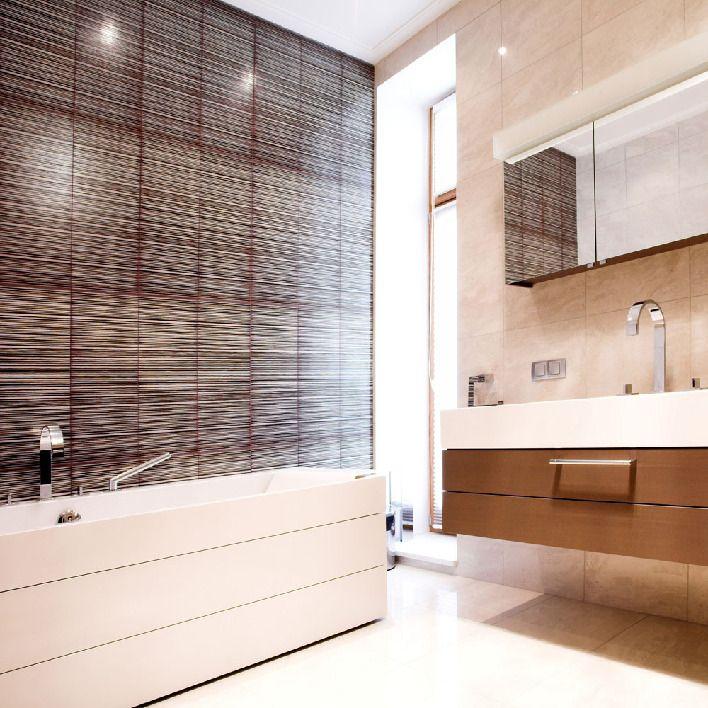 Минималистичная мужская ванная