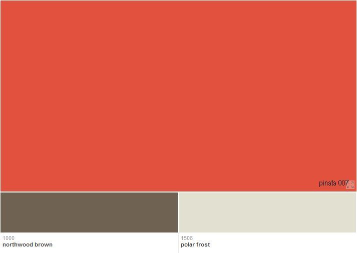 i love this bright, but earthy orange color from benjamin moore