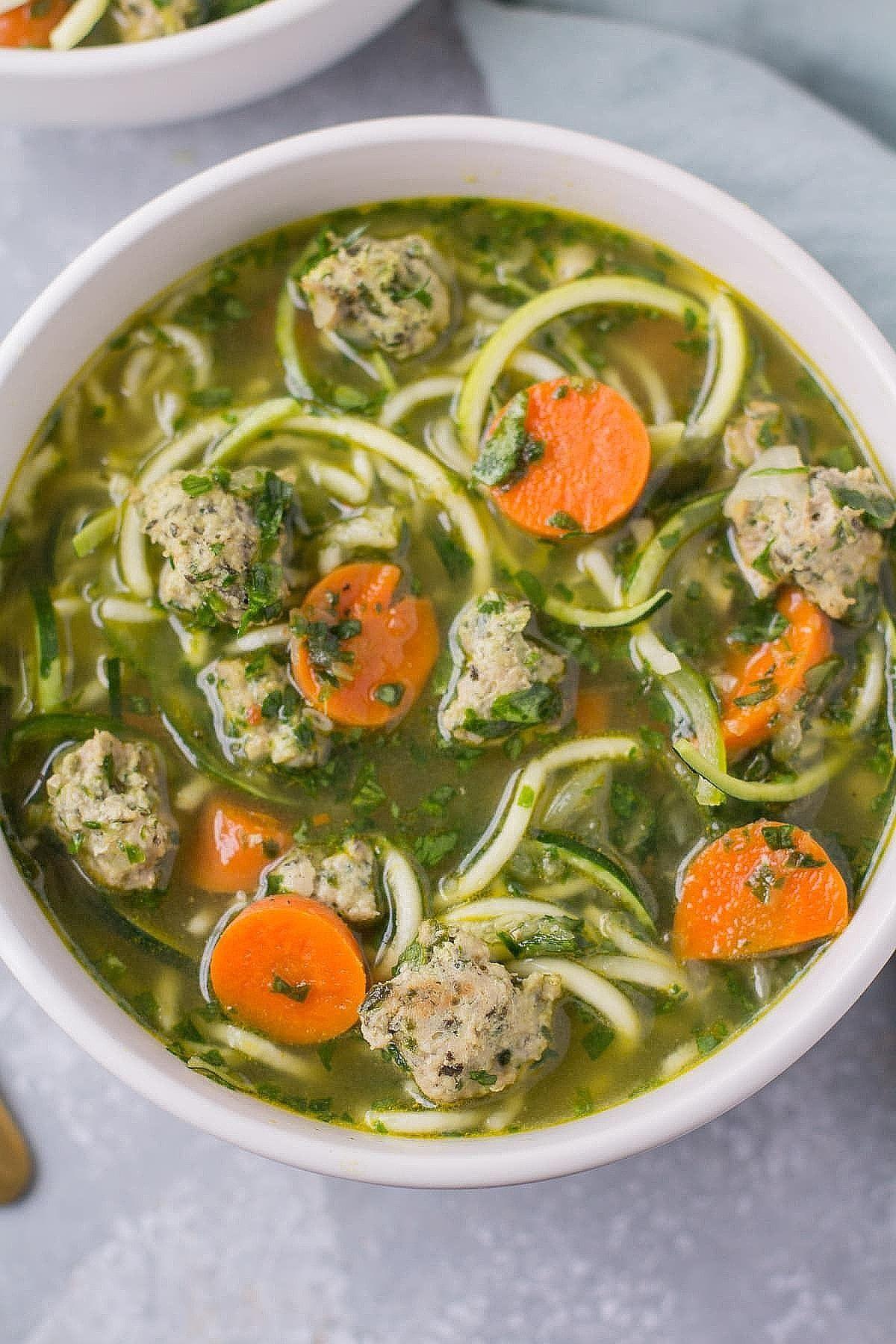 healthy italian wedding soup the in 2020 Healthy soup