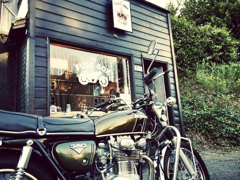 Fuse Box Moto Cafe Seattle Nice One Mc Pinterest