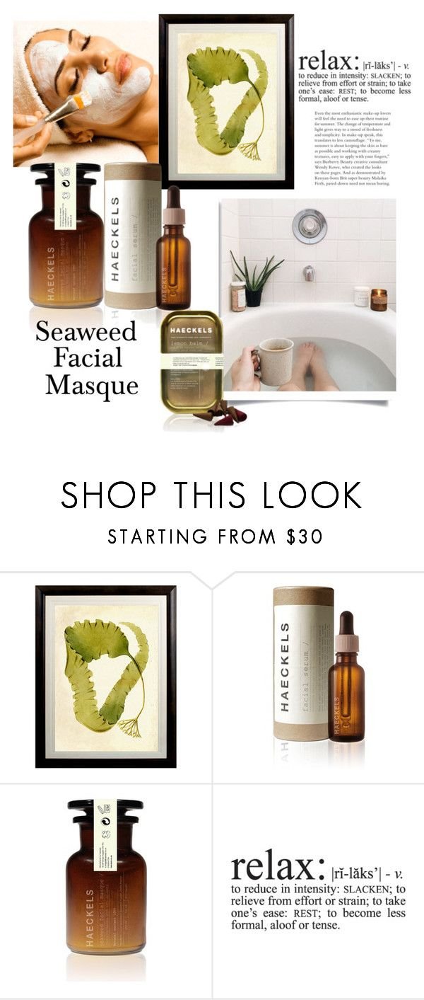 """Seaweed!"" by queenofsienna ❤ liked on Polyvore featuring beauty, Natural Curiosities, Haeckels and facemasks"