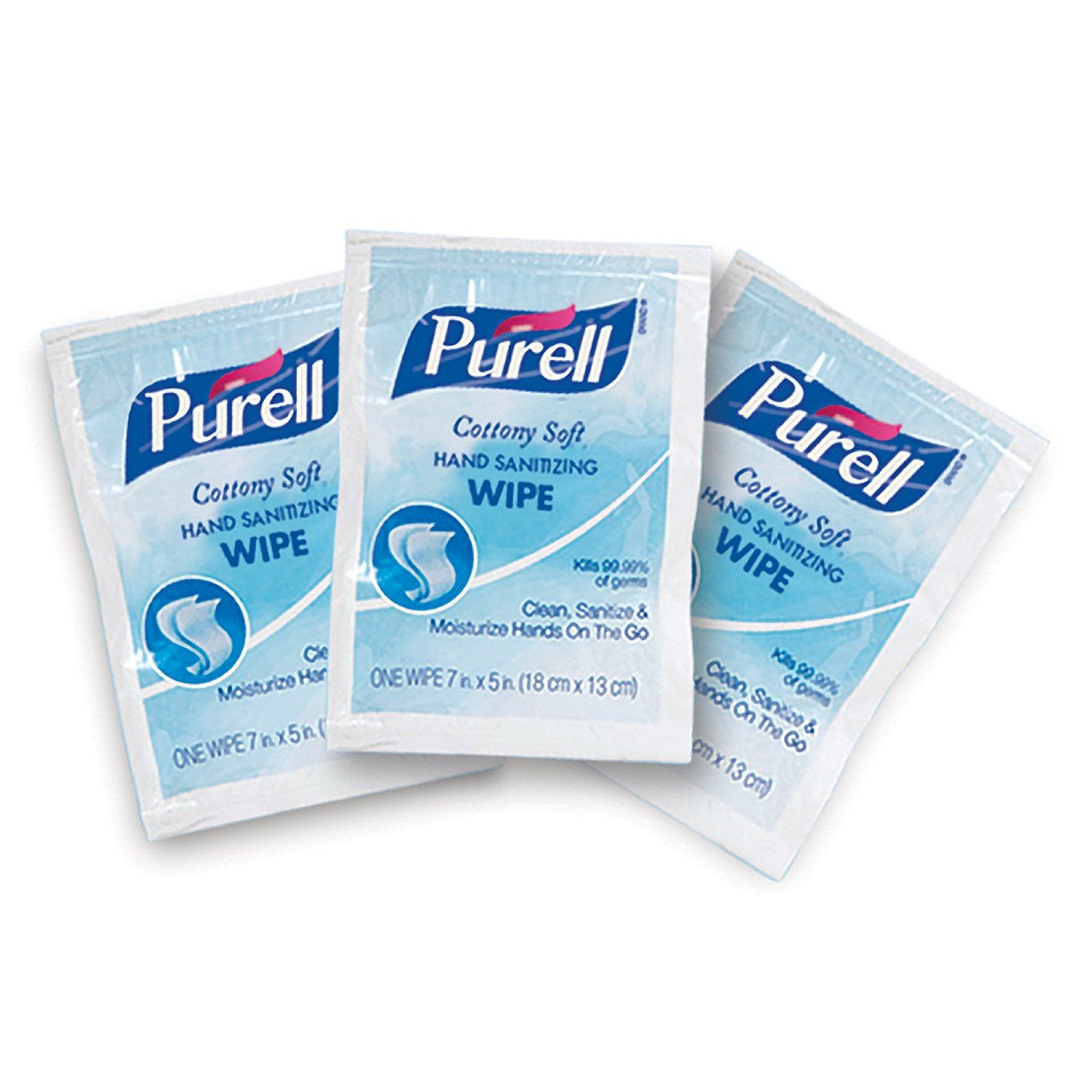Purell 9025 12 Cottony Soft Sanitizing Wipes 40 Count Case Of 12