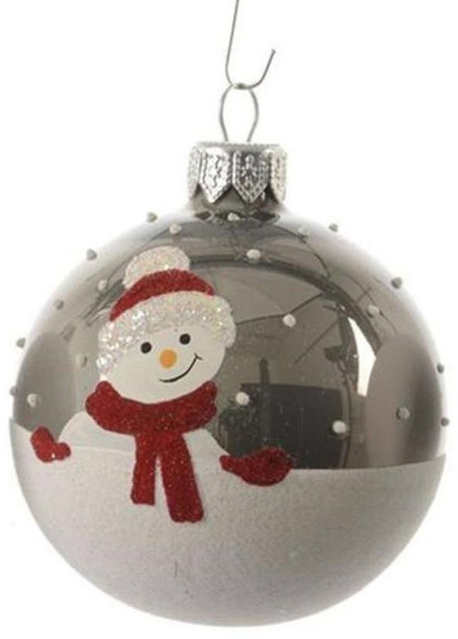 Decorative Christmas Ball Ornaments So Shiny Asstd National Brand Alpine Chic Pearl Gray Decorative