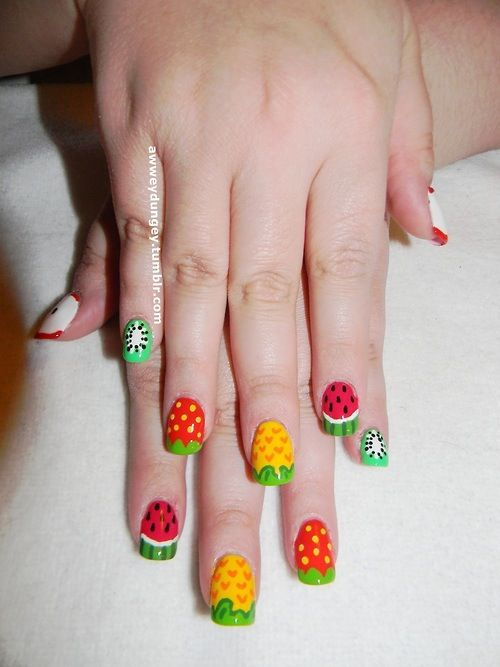 Nail Art Gallery by Allure Nail Supply | Fruit Nail Art | Pinterest ...