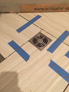 Tile Around Shower Drain