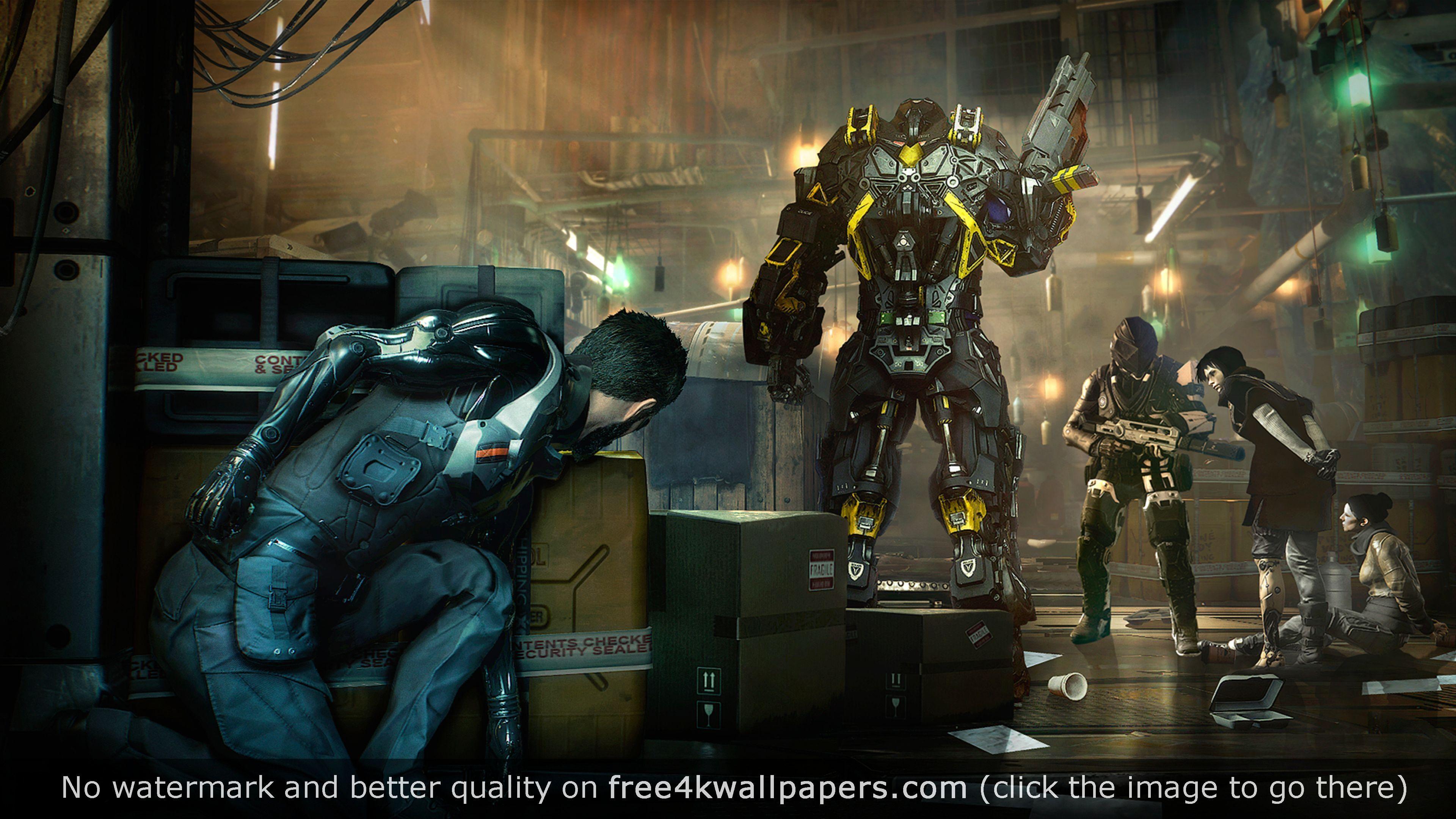 Deus Ex Mankind Divided 4k Wallpaper Deus Ex Mankind Deus Ex