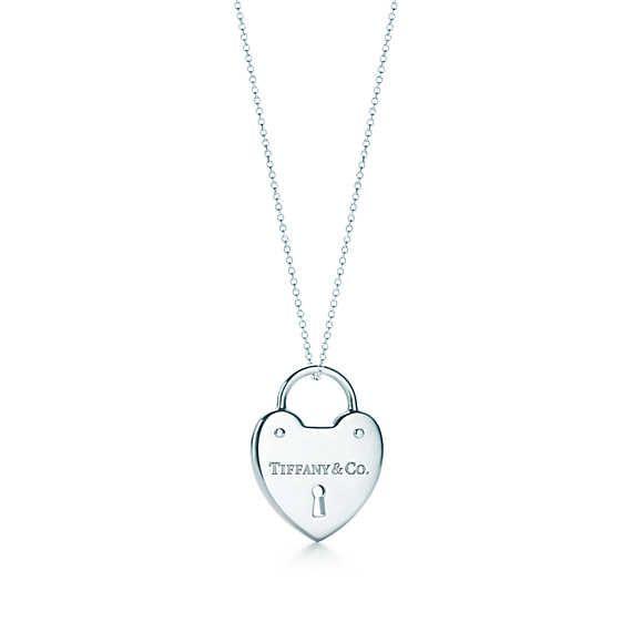 Tiffany locks heart lock pendant tiffany chains and sterling silver tiffany locks heart lock pendant aloadofball Choice Image