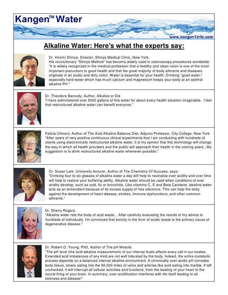 Alkaline Water Here 39 S What The Experts Say Kangen Water Kangen Water Benefits Alkaline Water