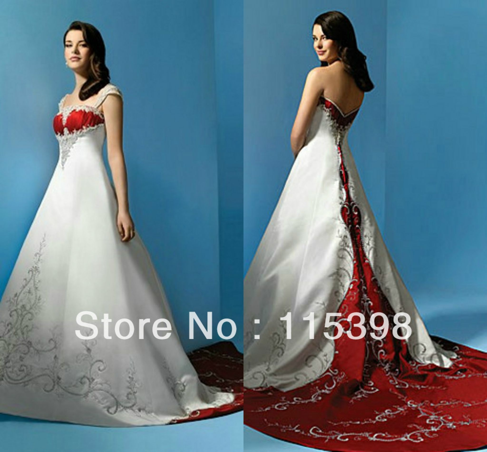 red and white wedding dresses uk - best dresses for wedding Check ...