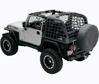 Smittybilt Cargo Restraint System Cres Fits 1997 To 2006 Tj Wrangler And Rubicon 4wd Com Smittybilt Jeep Wrangler Jeep Wrangler Jk