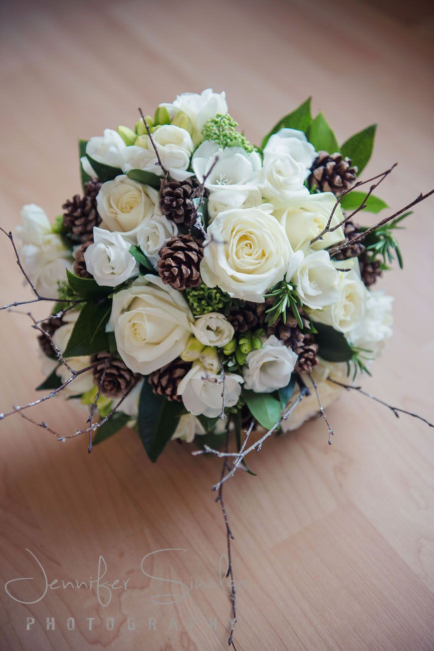 Winter Wedding At Woodlands Park Hotel Surrey Beautiful Bridal Bouquet