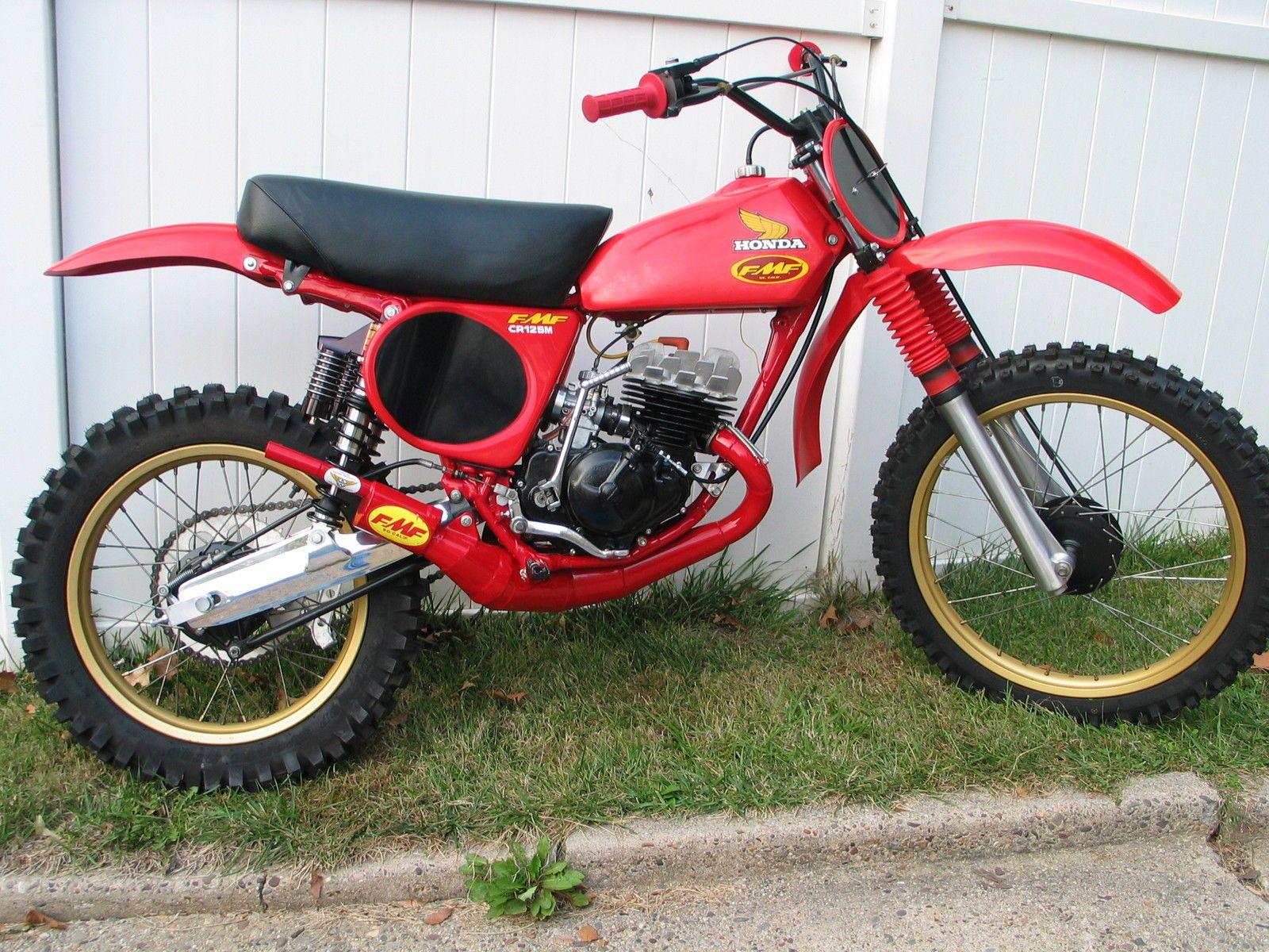 1976 Honda Cr125 Elsinore Pa Motocross Pinterest