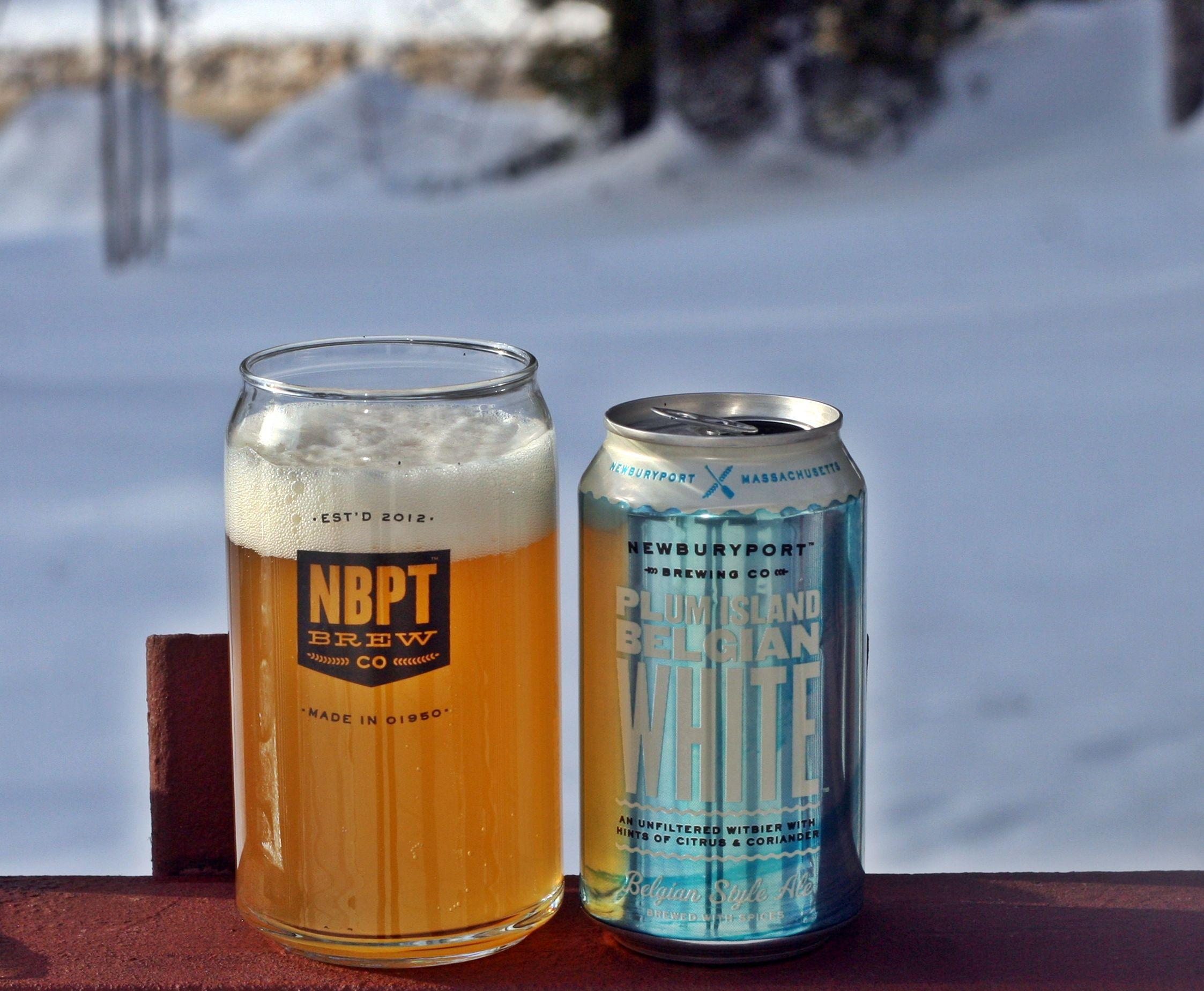 Plum Island Belgium White - Newburyport Brewing Co  | Beer I