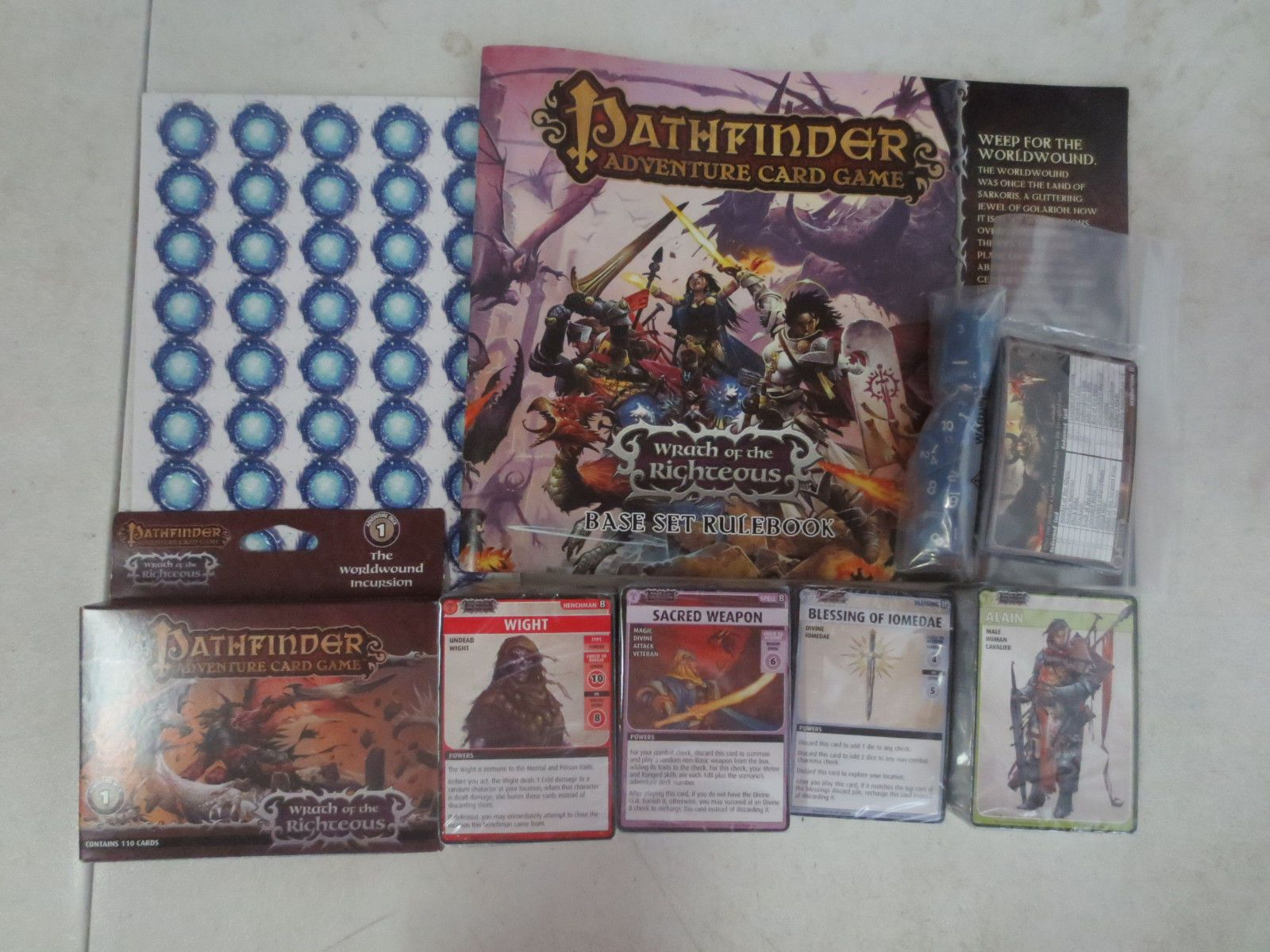 Fantasy 44111 Pathfinder Adventure Card Game Wrath Of The