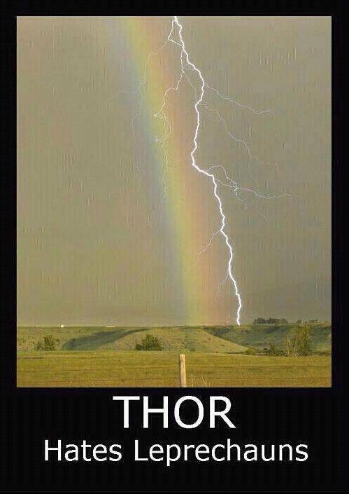 Thor hates leprechauns