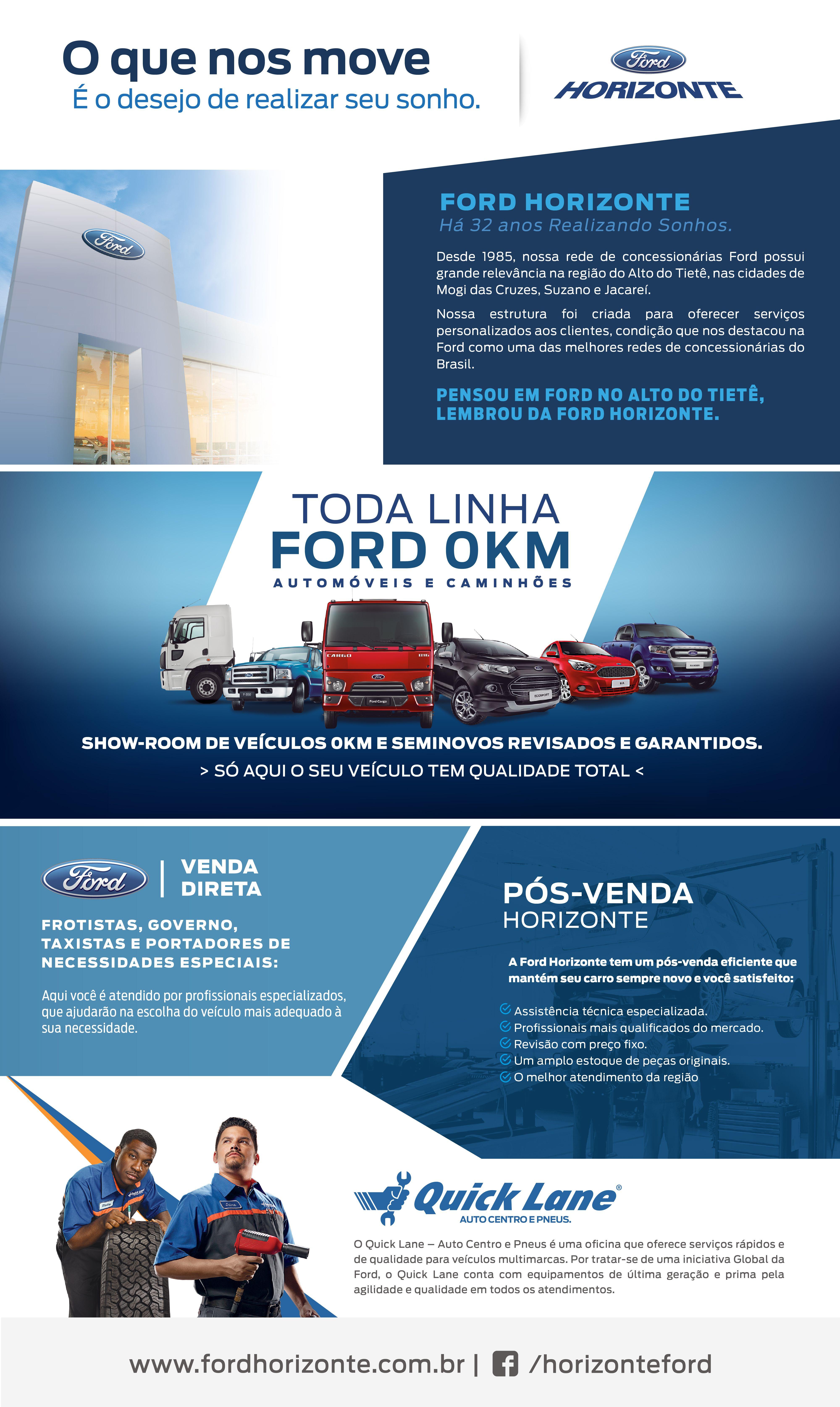 Criacao Email Mkt Cliente Ford Horizonte Ford Horizonte Sonhos